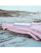 Serviette de plage, rondes, peignoirs